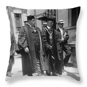 William Howard Taft (1857-1930) Throw Pillow
