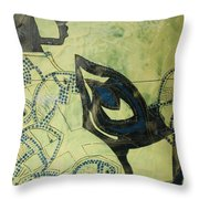 Wise Virgin Throw Pillow