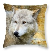 Wolf 2 Throw Pillow