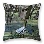 Wood Duck House IIi Throw Pillow
