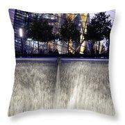 World Trade Center Museum Throw Pillow