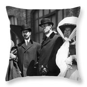 Wright Brothers Throw Pillow