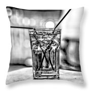 X Marks The Drink Throw Pillow