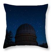 Yerkes Observatory Wisconsin Throw Pillow