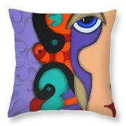 Your Wildest Imagination Throw Pillow