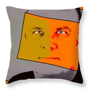 Zweistein - The Brain Man Throw Pillow