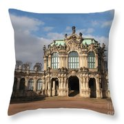 Zwinger - Dresden - Germany Throw Pillow