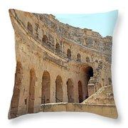 Amphitheatre Throw Pillow