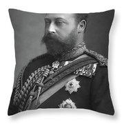 Edward Vii (1841-1910) Throw Pillow