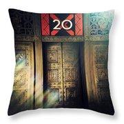 20 Exchange Place Art Deco Throw Pillow