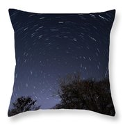 20 Minutes Of Star Movement Throw Pillow