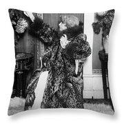 Sarah Bernhardt (1844-1923) Throw Pillow