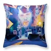 Phish-20 Years Later Throw Pillow