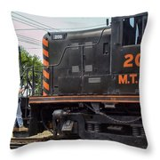 200 Mtry Throw Pillow