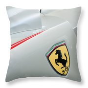 2005 Ferrari Fxx Evoluzione Emblem Throw Pillow