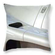 2005 Maserati Mc12 Emblem Throw Pillow