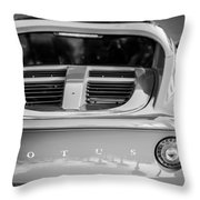 2006 Lotus Elise -0046bw Throw Pillow