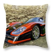 2007 Mongoose Throw Pillow