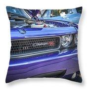 2008 Dodge Challenger Rt Throw Pillow