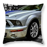 2008 Ford Mustang Shelby Throw Pillow