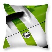 2010 Dodge Viper Srt10 Throw Pillow