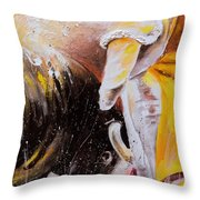 2010 Toro Acrylics 03 Throw Pillow