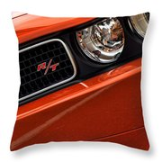 2011 Dodge Challenger R/t Throw Pillow