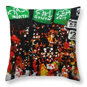 2012 068 New Jersey Throw Pillow