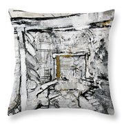 2012 120 White United States Botanic Garden Washington Dc Throw Pillow