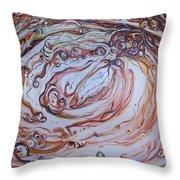 2012-amber Throw Pillow
