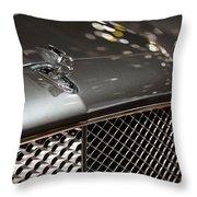 2012 Bentley Mulsanne Throw Pillow