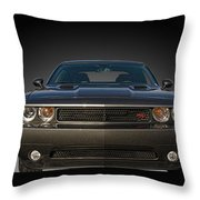 2012 Dodge Challenger Classic Throw Pillow