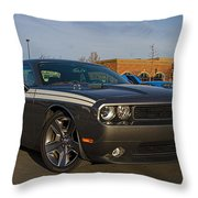 2012 Dodge Challenger R/t Classic Throw Pillow