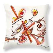 2012 Drawing #23 Throw Pillow