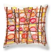 2012 Drawing #32 Throw Pillow