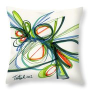 2012 Drawing #35 Throw Pillow