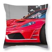 2012 Ferrari F-430 Throw Pillow