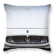 2012 Maserarti Gran Turismo S Throw Pillow