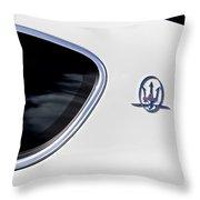 2012 Maserati Granturismo S Throw Pillow