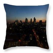 2013 City Of London Skyline Throw Pillow