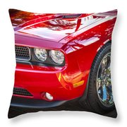 2013 Dodge Challenger Throw Pillow