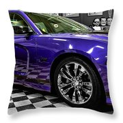 2013 Dodge Charger Throw Pillow