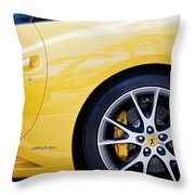 2013 Ferrari Pd Throw Pillow