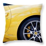 2013 Ferrari Throw Pillow