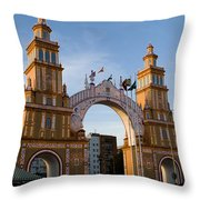 2013 Gateway To Feria De La Seville Throw Pillow