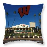 2013 Rose Bowl Pasadena Ca Throw Pillow