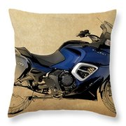 2013 Triumph Trophy Throw Pillow