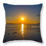 2014 03 02 01 Ft Walton Beach Fl Throw Pillow