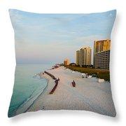 2014 08 05 01 Navarre Beach 100 Throw Pillow