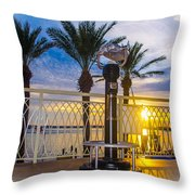 2014 11 11 01 B Destin 0306 Throw Pillow